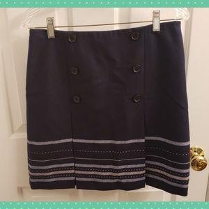 Ann Taylor LOFT Wool Blend Skirt